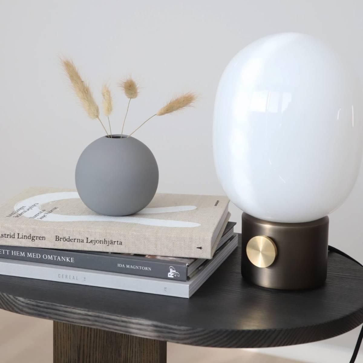 Ball Vase - Grey