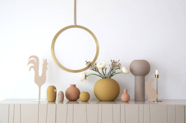Bilde av Ball Vase - Ochre
