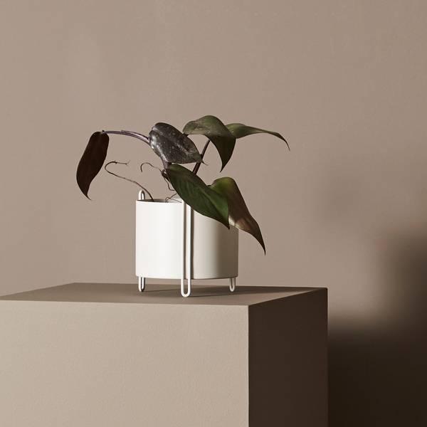 Bilde av Pidestall planter (small) Grey