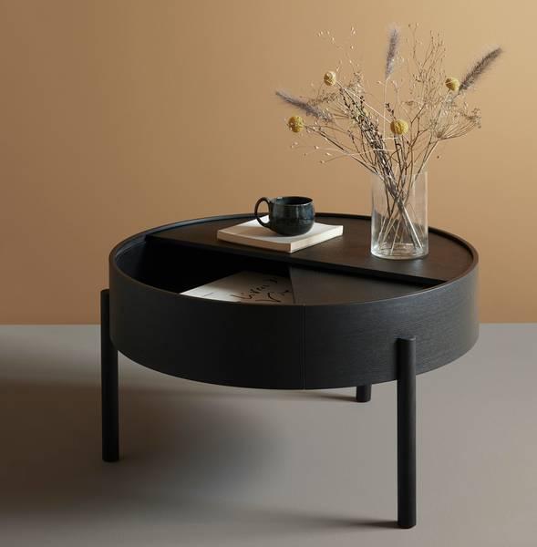 Bilde av Arc Coffee Table - Svart ask