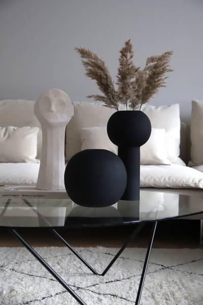 Bilde av Pillar Vase 32 cm - Svart
